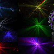 lichtbol in de verhuur naast stille disco
