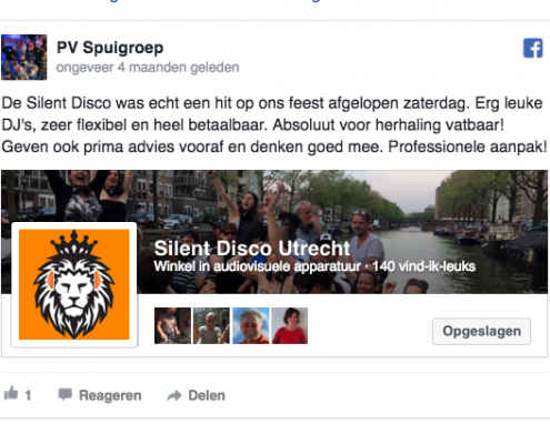 Silent Disco Utrecht reviews