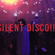 Silent Disco in opblaasbare tent