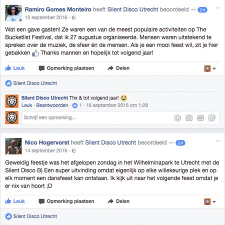 ervaring Silent Disco Utrecht