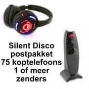 goedkoopste stille disco postpakket